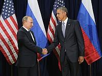 Барак Обама и Владимир Путин. Нью-Йорк, 28 сентября 2015 года