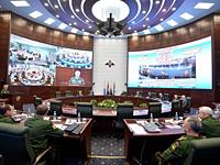 Национальный центр управления обороной Российской Федерации (зал управления и взаимодействия)