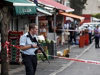 На месте, где был совершен теракт. Иерусалим, 10 октября 2015 года
