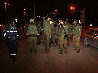 Теракт на перекрестке Ариэль: ранен израильтянин