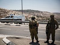 Теракт в районе Хеврона, ранен военнослужащий