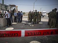 """Охранник КПП """"Гильбоа"""" застрелил террориста, напавшего на него"""