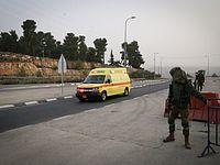 Попытка автомобильного теракта под Хальхулем, пострадавших нет