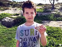 Восьмилетний мальчик нашел в Бейт-Шемеше голову статуэтки периода Первого Храма