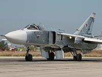 """Су-24М на аэродроме """"Хмеймим"""" за 17 дней до инцидента"""