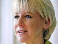 Министр иностранных дел Швеции Маргот Валльстрем