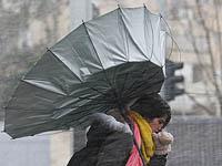 Вторая зимняя буря нового года: дожди, снегопады и шторм