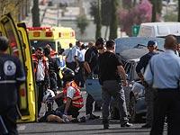 На месте теракта в Яффо. 8 марта 2016 года