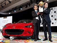 """В главной номинации – """"Всемирный автомобиль года"""" – победу одержал родстер Mazda MX-5."""
