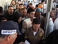 Walla: ШАБАК аннулировал сотни разрешений на работу палестинских арабов в Израиле