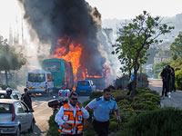После взрыва в 12-м автобусе. Иерусалим, 18 апреля 2016 года