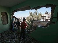 Дом семьи Хусейна Абу Гуша. 20 апреля 2016 года