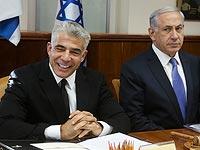 Яир Лапид и Биньямин Нетаниягу