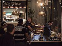 На месте теракта. Тель-Авив, 8 июня 2016 года