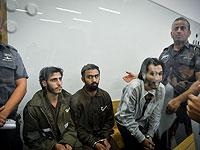 Юнас Зин, Мухаммад и Халид Махармэ в суде