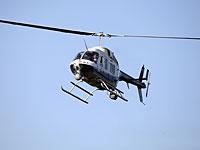 К поиску пропавшего мужчины привлечен полицейский вертолет