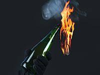 """Возле Маале-Хевер в израильский автомобиль брошена бутылка с """"коктейлем Молотова"""""""