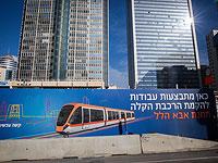 На месте работ по строительству тель-авивского трамвая