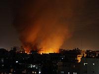 ЦАХАЛ нанес удары по сектору Газы в ответ на обстрел израильских военнослужащих