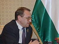 Спецпосланник России Михаил Богданов провел серию встреч в Рамалле