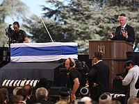 Билл Клинтон на похоронах Шимона Переса. Иерусалим, 30.09.2016