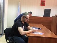 Антон Носик выступает в суде с последним словом. Москва, 3 октября 2016 года