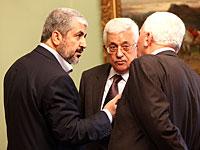 Махмуд Аббас встретился с Халидом Машалем и Исмаилом Ханийей