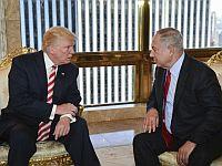 Дональд Трамп и Биньямин Нетаниягу незадолго до выборов президента США. Нью-Йорк, сентябрь 2016 года