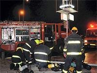 Пожар в Нетании, мужчина в тяжелом состоянии
