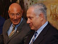 Арнон Милчен и Биньямин Нетаниягу, 2005 год