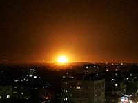 ВВС ЦАХАЛа в ответ на ракетный обстрел территории Израиля нанесли удары по сектору Газы