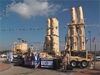 """Радиостанция """"Решет Бет"""" передает, что для перехваты сирийской ракеты была задействована система ПРО """"Хец"""""""