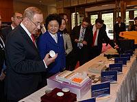 Биньямин Нетаниягу и Лю Яньдун на израильско-китайской конференции по инновациям. Пекин, 21 марта 2017 года