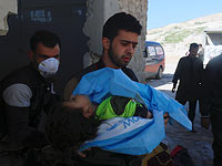 Идлиб, Сирия. 4 апреля 2017 года