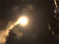 Пентагон опубликовал видео ракетного удара по авиабазе в Сирии