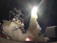 США нанесли массированный ракетный удар по базе сирийской правительственной армии