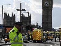 На месте теракта в Лондоне. 22 марта 2017 года