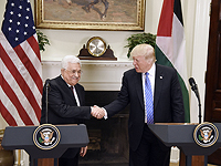 Махмуд Аббас и Дональд Трамп в Вашингтоне, 3 мая 2017 года