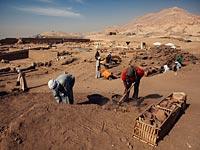 Раскопки в районе Луксора