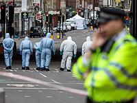 На месте теракта в Лондоне. 5 июня 2017 года