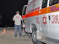 На трассе номер 234 в Негеве перевернулся автомобиль, погиб 40-летний мужчина