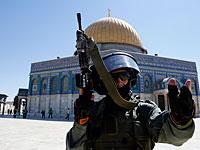На Храмовой горе камнем легко ранен еврей, полиция закрыла доступ для мусульман
