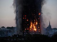 Пожар в башне Grenfell Tower. Лондон, 14 июня 2017 года