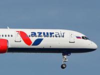 Пассажирский самолет чартерной авиакомпании AZUR air