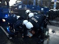Два россиянина пойдут под суд за участие в беспорядках во время саммита G20 в Гамбурге
