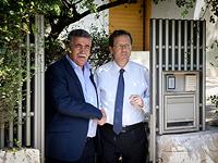 Амир Перец и Ицхак Герцог. Тель-Авив, июль 2017 года