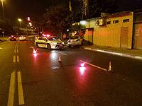 В Тель-Авиве пьяный водитель попытался сбежать от полицейских