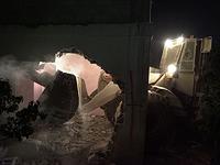 Разрушение дома семьи террориста в Кубаре. 16 августа 2017 года