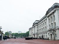 Полиция возле Букингемского дворца