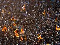 Антитеррористический марш в Барселоне. 26 августа 2017 г.